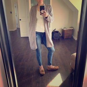 Aritzia cardigan sweater with pockets.